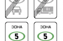 Знак «Экологический класс транспортного средства» — нововведения с 1 июля 2021